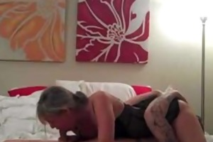 hot wife with fine ass rides on top