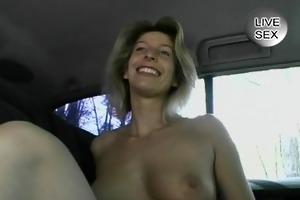 mother i is shy to masturbate in public - julia
