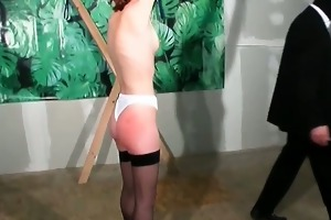 she is enjoyed in this slavery play with those