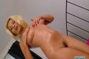 hawt golden-haired d like to fuck receives