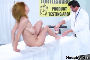 pornstar ashley graham visits masseur