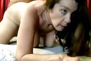 perverted older chick enjoys a hard fucking