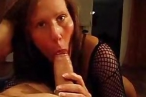 hawt wife rides on cock and acquires snatch jizzed