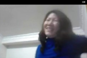 chinese wife show whoppers on web camera