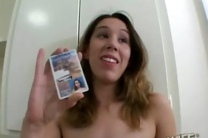 this cheating wife receives herself drilled by