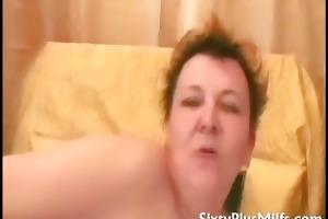 plump aged dilettante ann