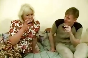 big drunk mamma receives drilled by legal age