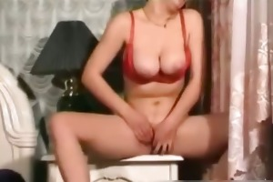 knockers mum dildoing after doing her