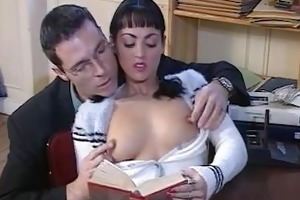 aged lady gets fisted and fucked. then she is