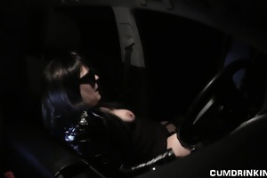 wife team-fucked by strangers in her car