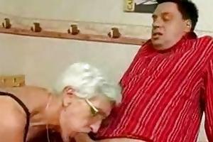 insatiable granny just likes penis