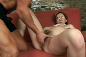 oral-job fun for pregnant bawdy cleft