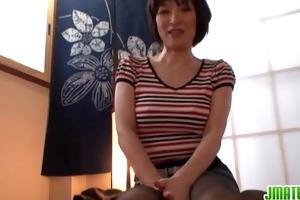 oriental wife enjoys palatable dick