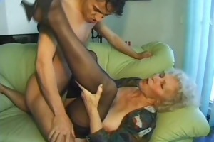 old dilettante older wife sucks and copulates