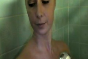 shower enjoyment with russian mother i daria