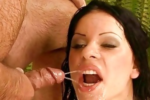 older man fucking and pissing on naughty girl