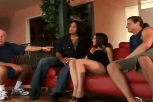 sultry dark brown mother i swings for hubby
