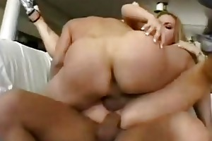 breasty golden-haired mother i receives her