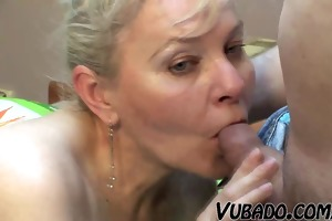bedroom sex by mature pair
