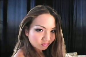 hawt oriental porn star striptease
