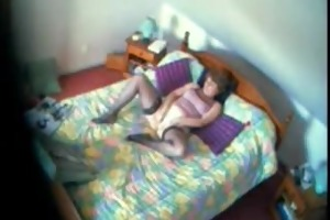 my mamma juliette 40 years fingering bedroom
