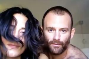 concupiscent dilettante pair having sex on web