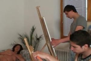juvenile painters team fuck nude oldie