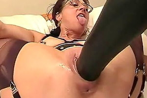 non-professional wife fisted and fucked with a