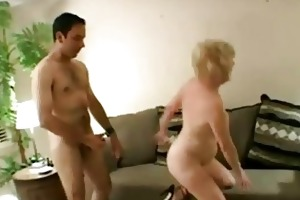 naughty aged doxy acquires facial load