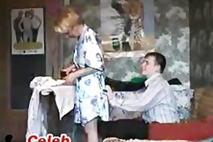 russian mamma got youthful dick russian