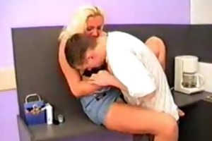 russian mommy drilled in kitchen 2010