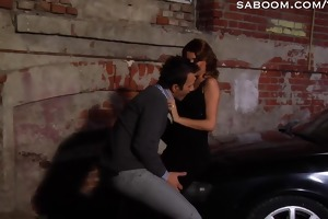 car sex in alley