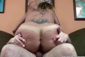 overweight lexxi getting screwed in her pleasing