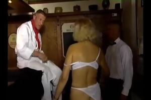 aged sex with youthful booty sexy wench