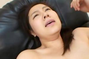 mikako imada - japanese wife getting a good