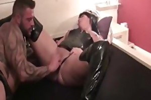 bodybuilder fisting his wifes bawdy cleft
